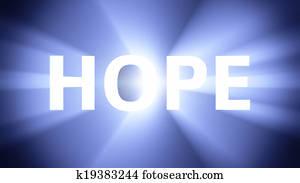 Illuminated HOPE