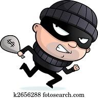 Burglar Running
