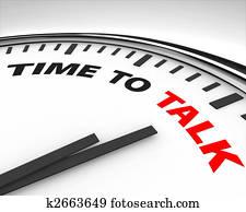 Time to Talk - Clock