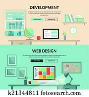 begriffe, für, webentwicklung