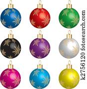 Christmas Ornament Set 1