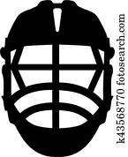 Lacrosse Helmet Front