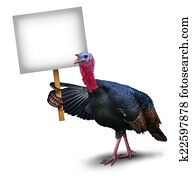 Turkey Bird Sign