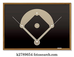baseball blackboard