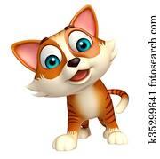 fun cat funny cartoon character