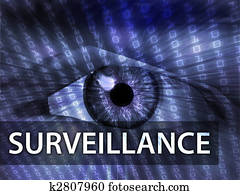 Surveillance illustration