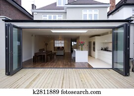 House kitchen extension