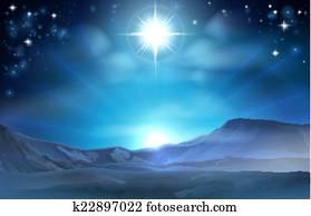 Christmas Nativity Star of Bethlehem