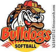 bulldog softball