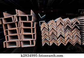 stock foto stapel von stahl kanal section u10031532 suche stockfotografie fotodrucke. Black Bedroom Furniture Sets. Home Design Ideas