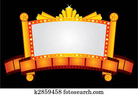 gold, kino, neon