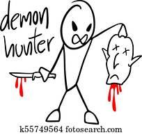 demon hunter draw