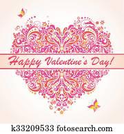 glücklich, valentines, day!