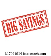 Big Savings-stamp