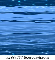 An illustration of a seamless water surface