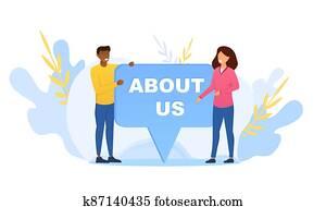 Website information concept