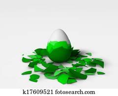egg in the egg