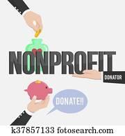 non profit illustration