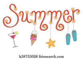 summer fun clipart and illustration 74 529 summer fun clip art rh fotosearch com summer funny clipart summer fun clipart black and white free