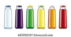 Bottles for Water, Juice, Lemonade and other drinks