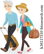 Seniors on a Trip