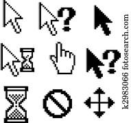Pixelated graphics