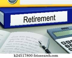 retirement binders