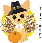 Chihuahua Thanksgiving