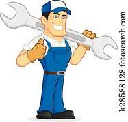 Mechanic or plumber