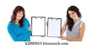 Two Best Friends Stock Image K2986151 Fotosearch