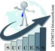 Success financial company logo