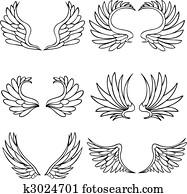 Angel Wing Set