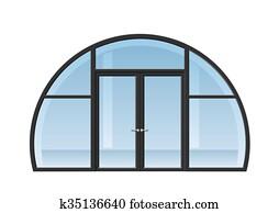 portes et fenêtres cintrées