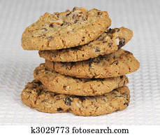 Oatmeal and Raisan cookies