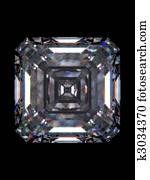 Diamond emerald square