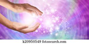 Beautiful Sparkling Healing Energy