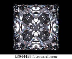 Diamond princess cut