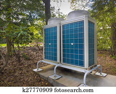 Air conditioning and heating system