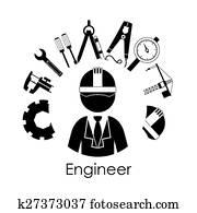 engineer clip art royalty free 127 278 engineer clipart vector eps