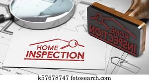 Home inspector, Buyer or Seller Property inspection.