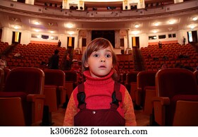 Child in theater