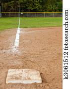 Neighborhood Baseball Field