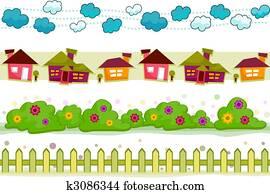 House and Garden Borders