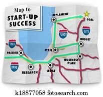 A road map to start-up success offering directions and help in starting your new business or company following a business plan