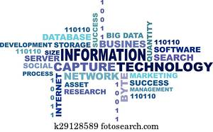 Information technology concept