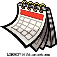 Calendar Schedule vector icon