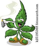 Marijuana Mascot