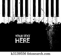 dreckig, klavierschlüssel