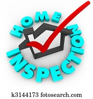 Home Inspection - Check Box