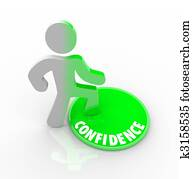 Stepping Onto the Confidence Button
